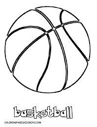 Smooth Basketball Coloring Pages Basketball Free Mens Sports