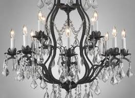 cosy old and vintage hanging cast iron chandeliers with white five