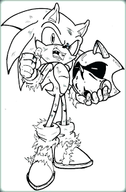 Sonic And Mario Coloring Pages Online Books For Sale Kids