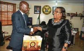 Image result for magu ibrahim with lagos  state chief judge
