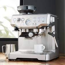 Presso / rok espresso coffee maker. Breville Barista Express Espresso Machine Reviews Crate And Barrel