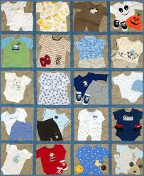 I like this take on the baby clothes memory quilt. I love that ... & I like this take on the baby clothes memory quilt. I love that it's so  busy! :) | Baby sewing and gifts | Pinterest | Babies clothes, Baby clothes  quilt and ... Adamdwight.com