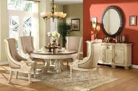 small round dining room table stylish and comfy dining room with banquette bench classic dining room small round dining room table