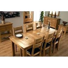 oak table and 6 chairs extending dining table 6 chairs extending dining table and chairs