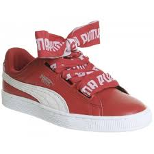 puma shoes red. puma - basket heart women\u0027s shoes red style number 2664860000 gptjstc