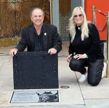 todd fisher catherine hickland. Simple Todd Todd Fisher Unveils Commemorative Plaque In Honor Of Carrie At TCL  Chinese Theatre Forecourt Throughout Catherine Hickland T