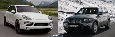2012 BMW X5 35d vs. 2013 Porsche Cayenne Diesel