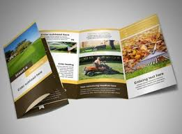 Lawn Care Brochure Lawn Care Brochure Template Mycreativeshop