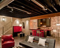 unfinished basement ceiling ideas. Theater Unfinished Basement Ceiling Ideas