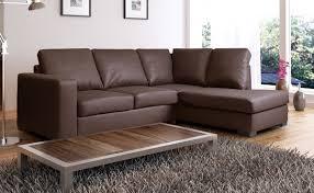 wellington brown leather corner rh