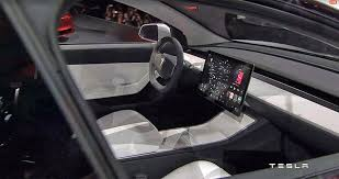 tesla unveils model 3 elusive magazine model a interior freshittips 1929 ford model a interior the interior seen at a cars an