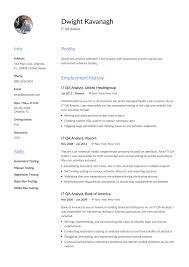 Qa Tester Resume Elegant System Analyst Resume Sample Of Qa Tester