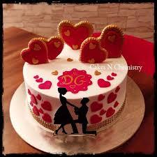 Engagement Cakes Cakesnchemistrycom