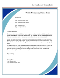 creating letterhead in word letterhead template microsoft word templates
