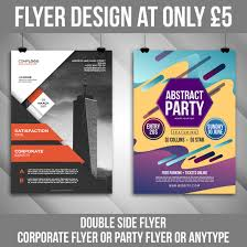 Freelance 2 Sided Flyer Services Online Fivesquid