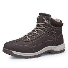 zenobia leather booties waterproof 8058brown41