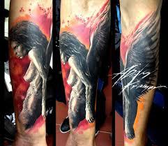 тату ангел значение татуировки ангела эскизы и фото работ