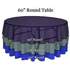 90 inch round plastic tablecloths tablecloth sizing tips wedding and event linens shipped to you