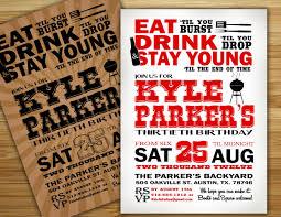 th men inspirational 30th birthday invitation templates
