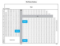 Seating Map The Palace Danbury