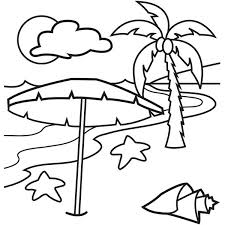 Small Picture A Lovely Beach on Tropical Island Coloring Page Download Print