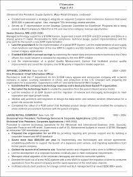 Resume Sample It Resume Sample 24 IT Executive Resume Career Resumes 24