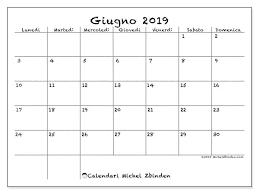 Calendario Giugno 2019 77ld Michel Zbinden It