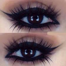 beauty brown brown eyes cat eye cute eye makeup eyelashes