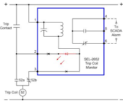 improve system reliability sel trip coil lockout relay sel 2652 trip coil monitor wiring diagram