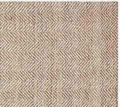 chevron wool jute rug swatch