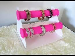 diy bracelet holder bangle stand