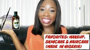 favorites makeup for dark skin natural haircare skincare made in nigeria teefah xoxo