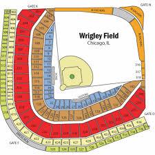 Wrigley Field Seating Chart