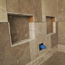 Recessed Shelves Bathroom Shower Niche Inserts Arch Combo Le Niche Built In Shower Niches