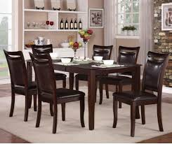 cherry dining room chairs 7 piece set 839 petent