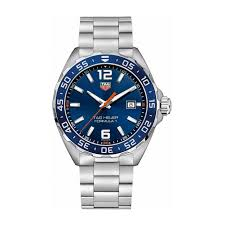 buy tag heuer swiss crafted watches online fraser hart tag heuer formula 1 men s blue dial stainless steel watch