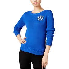 Maison Jules Size Chart Maison Jules Womens Patch Knit Sweater
