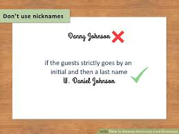 how to address response card envelopes (with pictures) wikihow Whose Name Should Go First On Wedding Invitations image titled address response card envelopes step 4 whose name goes first on wedding invitations