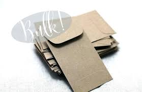 Mini Envelopes For Business Cards Coin Envelope Template Small
