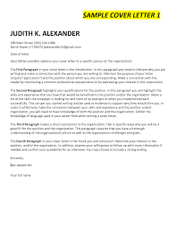 Cover Letter Opening Paragraph For Cover Letter Opening Paragraph