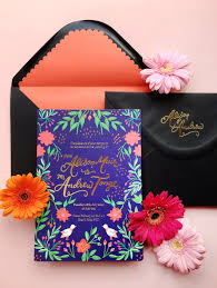 Colorful Mexican Fete Inspired Wedding Invitations