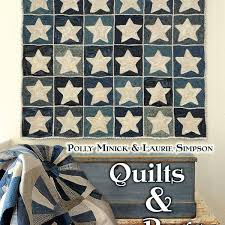 Quilts & Rugs - Polly Minick & Laurie Simpson - Quiltmania Editions