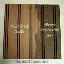 For all Wood Connection projects we start by painting the bead board. After  your paint is dry, add the Wood Sheen Stain over the paint and brush it  over the ...