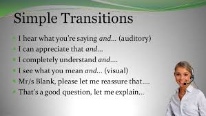 best customer service phrases transistional phrases and communication style
