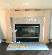 impressive building a fireplace surround and mantel inside ideas popular plans materials firepl