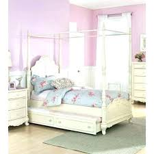 Twin Wood Canopy Bed Canopy Bed Frame Queen Canopy Queen Bed Panel ...