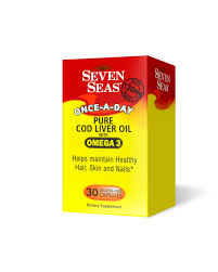 seven seas cod liver oil once a day capsules