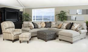 Traditional Sectional Sofas Living Room Furniture Traditional Styled Sectional Sofa With Comfortable Pillowed Seat