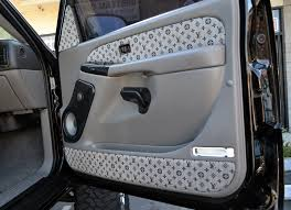 louis vuitton seat covers for cars