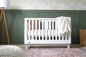 a modern vintage boy nursery the